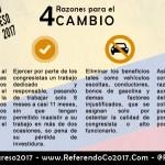 Cambios con Referendo Congreso 2017