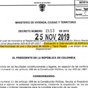 Decreto 2113